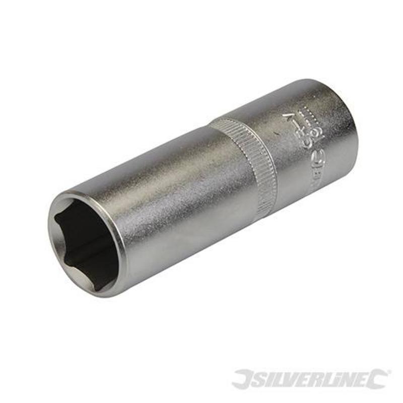 "Silverline 1/2"" Drive Deep Metric Socket 19Mm"