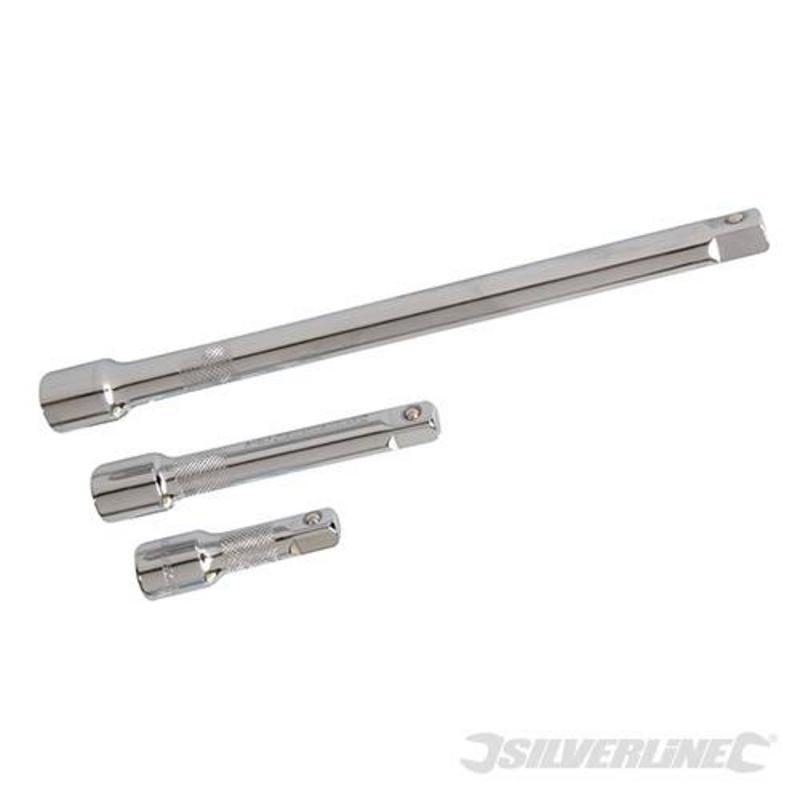 Silverline 3 Piece Extension Bar Set