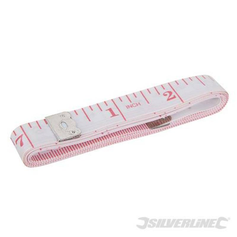 Silverline Fibreglass Measuring Tape 1.5M