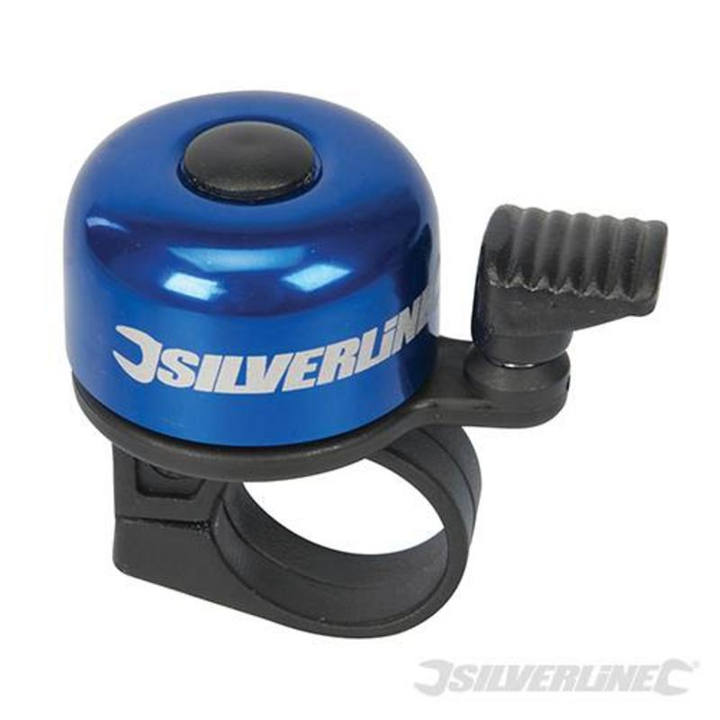 Silverline One-Touch Bike Bell 80 X 100Mm