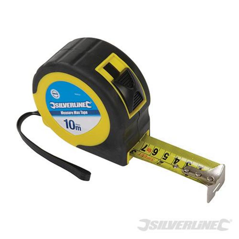 Silverline Measuring Tape 10M X 32Mm