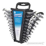 """22 Piece Combination Spanner Set 6-22M And 1/4 - 7/8"""""""