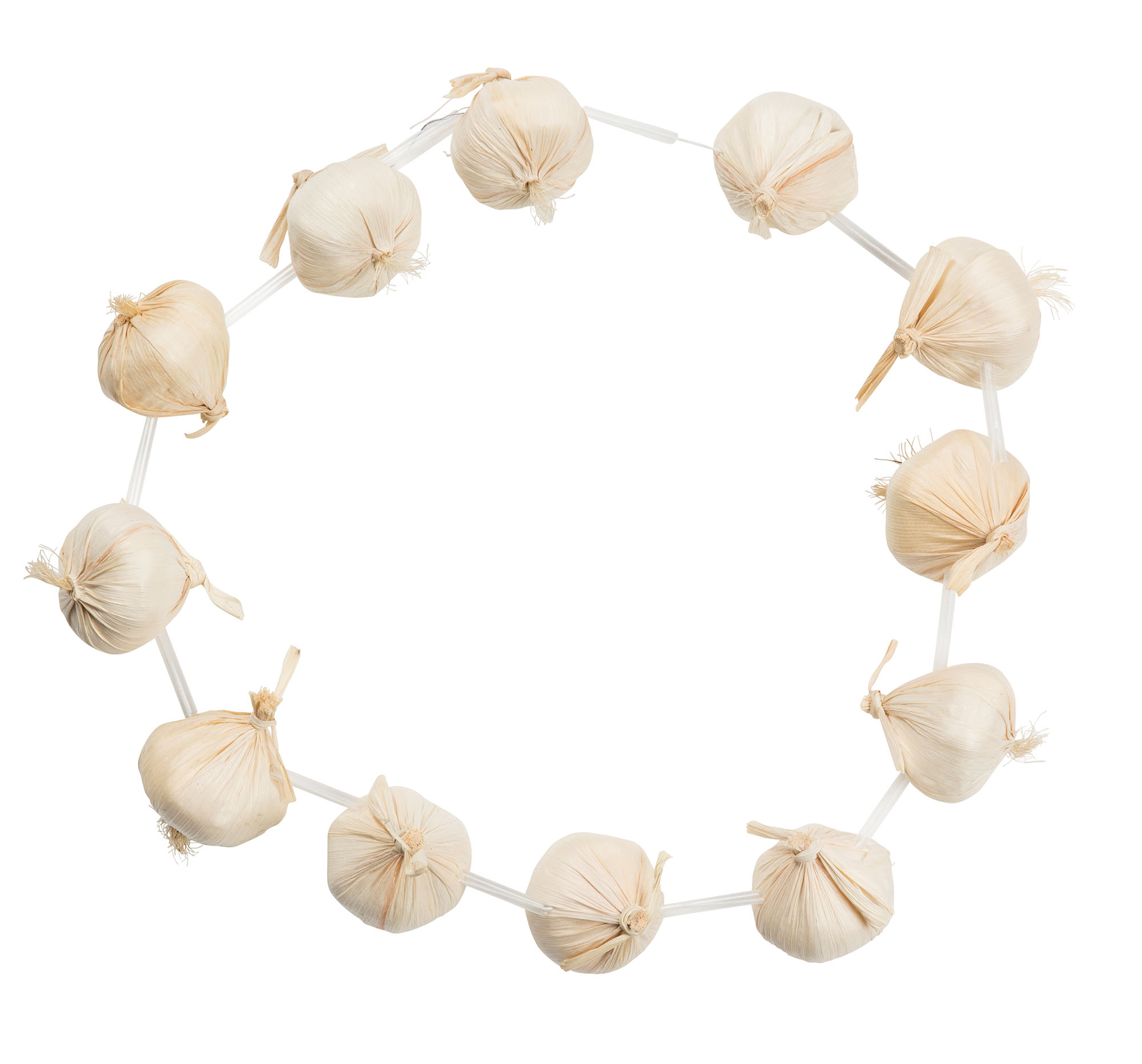 Necklace Of Fake Garlic Fancy Dress Costume Prop Halloween Frenchman