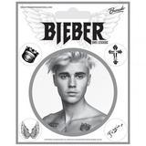 Justin Bieber Vinyl Self Adhesive Wall Stickers 5 Pack