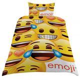 Emoji Duvet Single Duvet Quilt Cover Set With Pillow Case