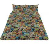 Doctor Who Dr Reversible Double Duvet Quilt Cover & 2 Cases Set