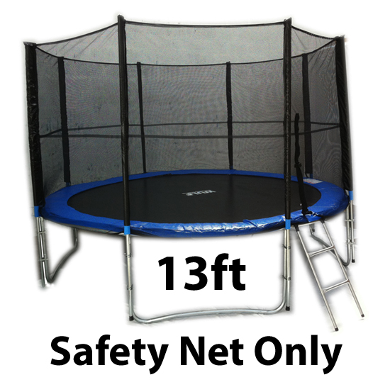 13ft Trampoline Replacement Safety Net Netting For