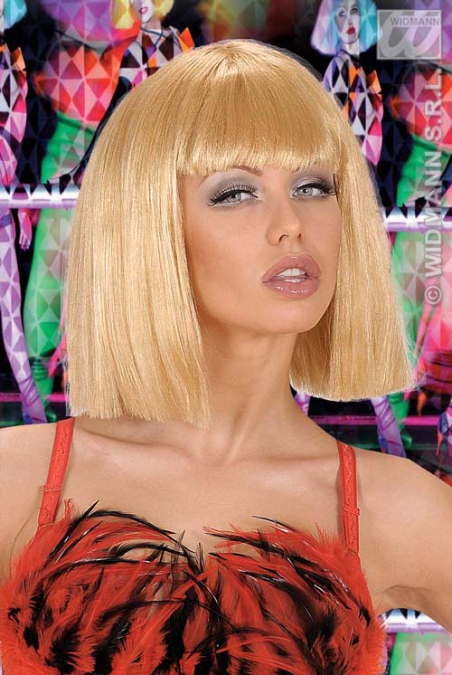 Blonde Bob Wig Fancy Dress 38