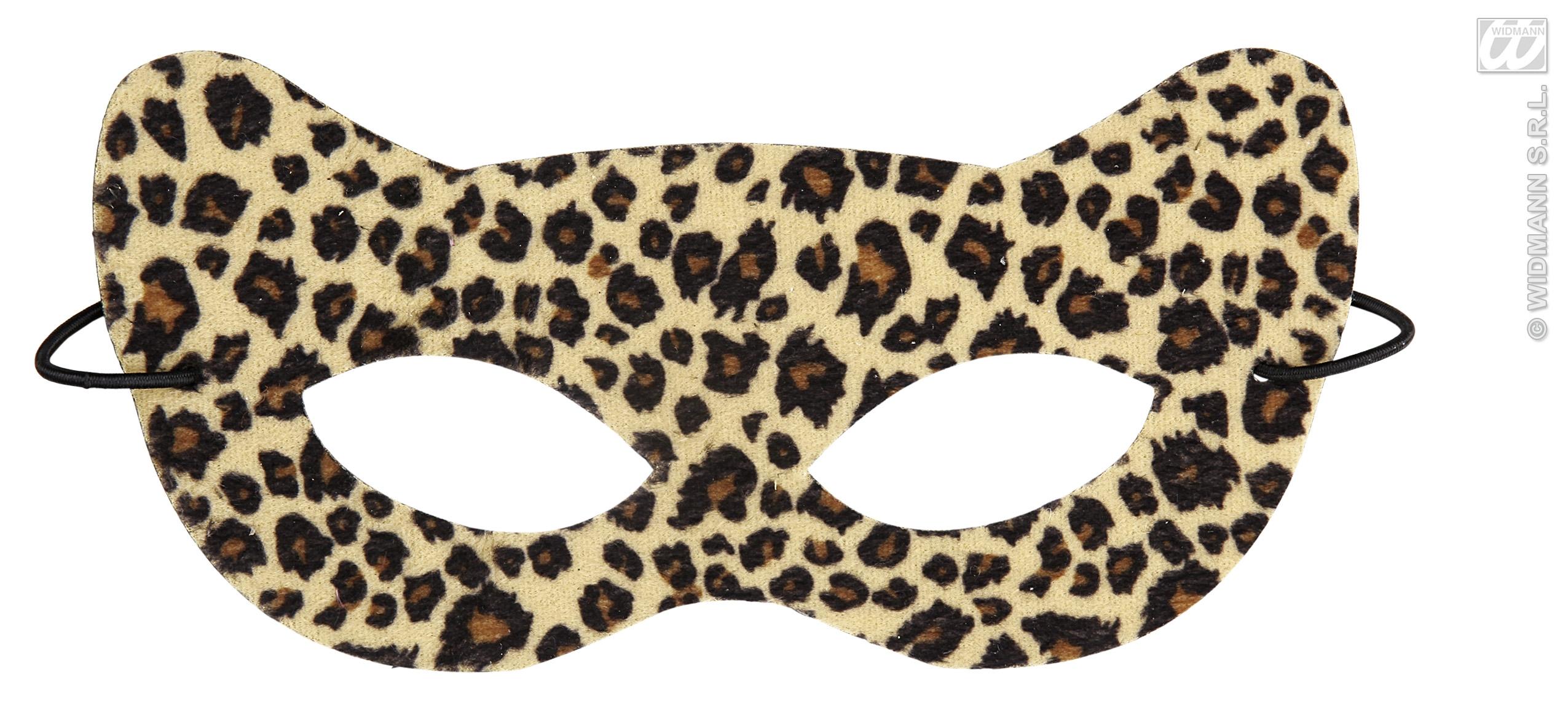 Leopard Eye Mask Eyemask Cat Woman Masquerade Ball Halloween Fancy ...