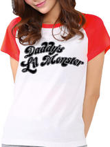 Bon Jovi Heart & Dagger T-Shirt Womens Ladies Fitted Top Black XL UK 14-16