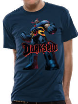 Superman Darkseid T-Shirt Licensed Top Blue S