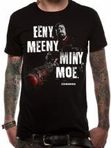 Walking Dead Eeny Meeny T-Shirt Licensed Top Black S