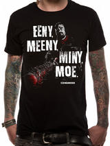 Walking Dead Eeny Meeny T-Shirt Licensed Top Black 2XL