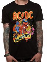 Ac/Dc Are You Ready Mens T-Shirt Licensed Top Black S