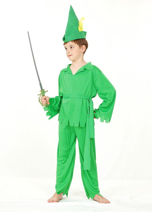Enfant vert peter pan costume d guisement robin hood quipement 4 6 ans ebay - Deguisement peter pan enfant ...