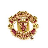 Manchester United Fc Man Utd Club Crest Logo Lapel Pin Badge - Official