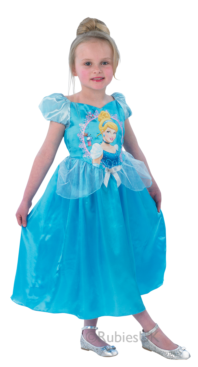 official disney princess fancy dress costume girls outfit childrens childs kids ebay. Black Bedroom Furniture Sets. Home Design Ideas