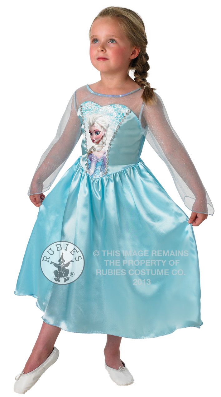 Official Disney Princess Fancy Dress Costume Girls Outfit ...