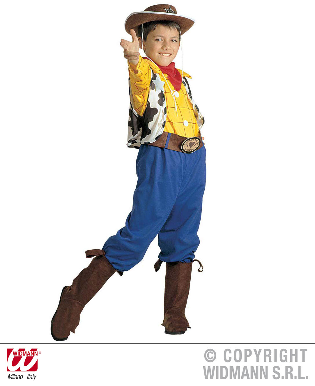 Childrens Woody Fancy Dress Costume Toy Story Cowboy Outfit 140Cm ...