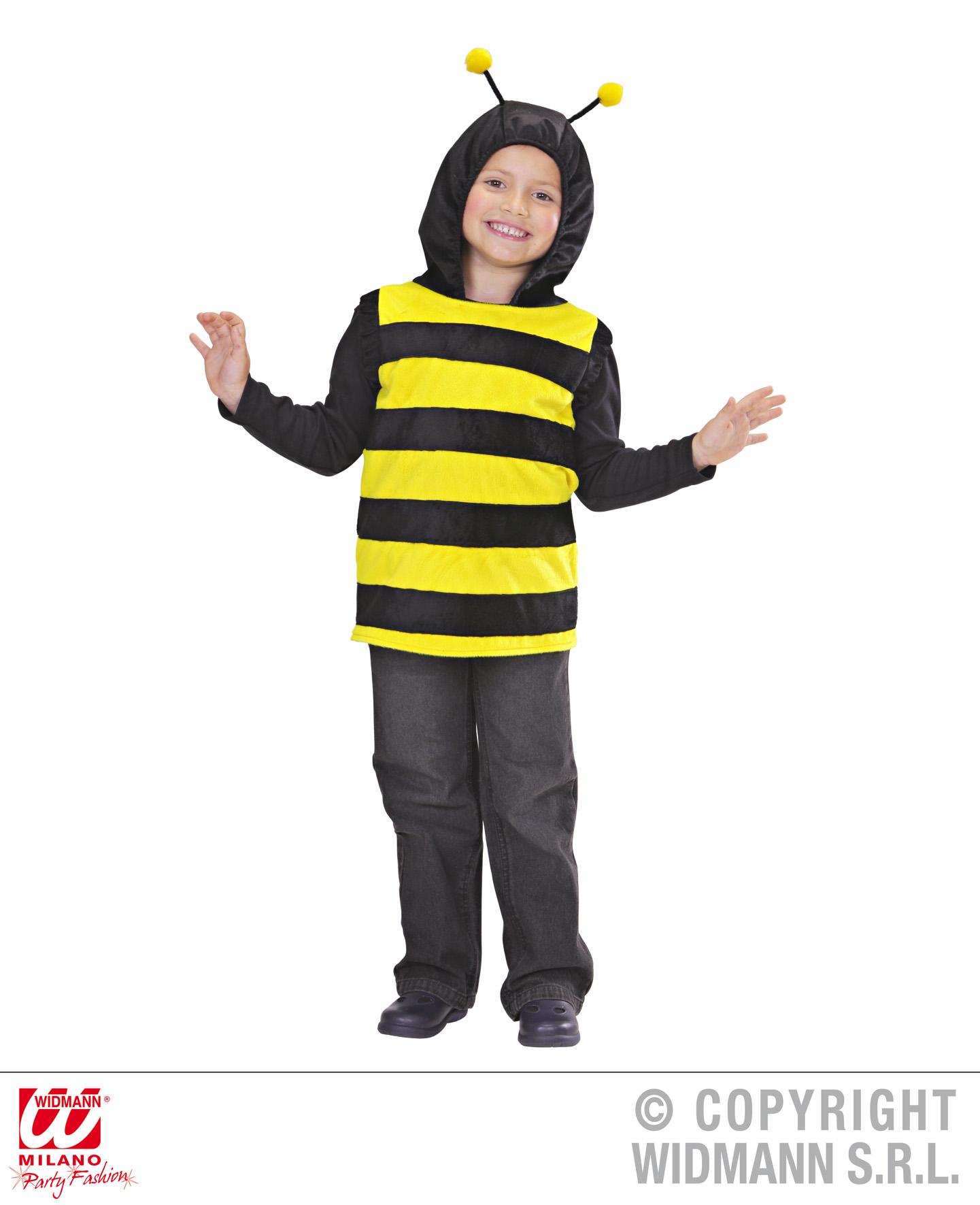 Divertido disfraz de abeja para ni os traje insecto for Disfraces de bichos