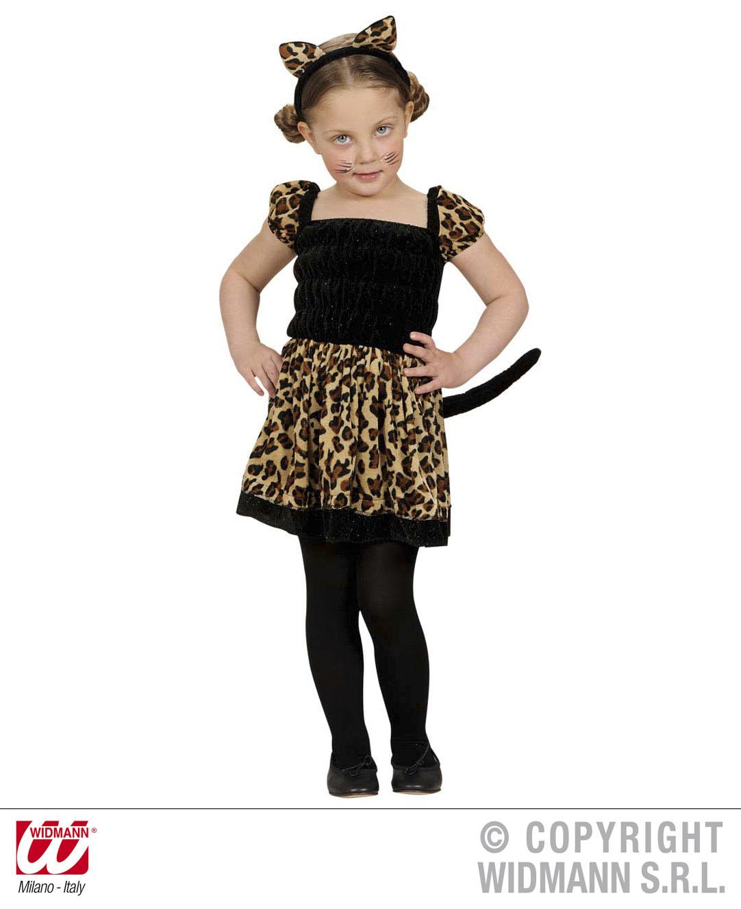 Ni os leopardo disfraz traje gato grande selva animal - Disfraces de gatos para ninos ...