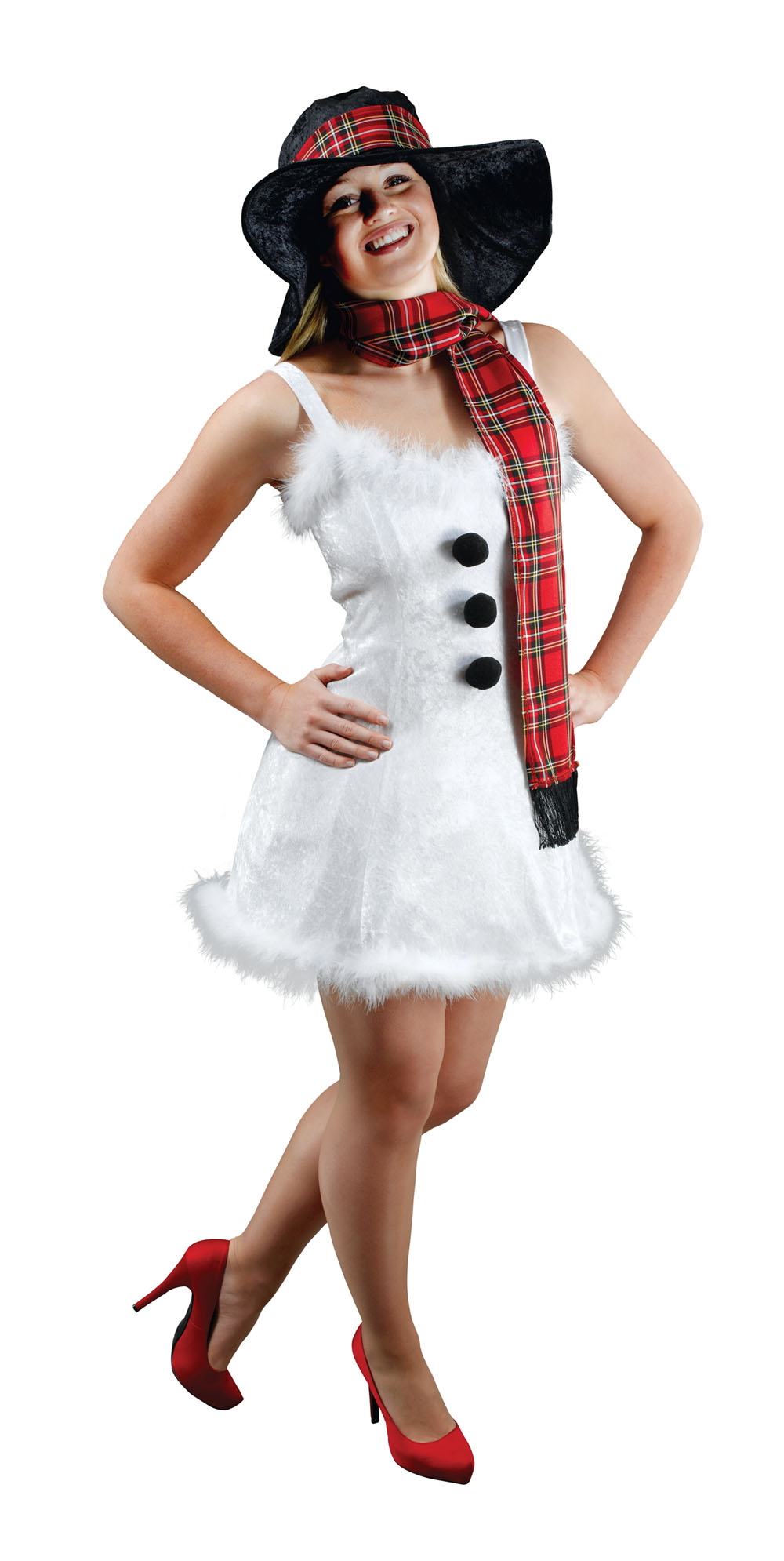 Sexy snowman outfit