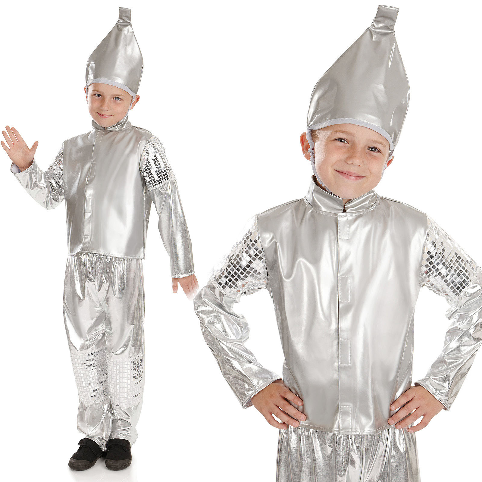 Childrens Wizard Of Oz Fancy Dress Costumes Boy Girl Kids Book ...