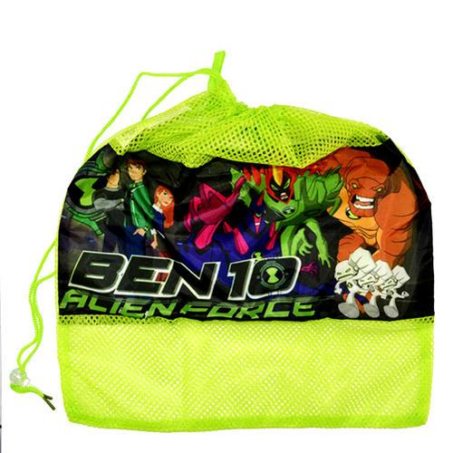 Ben 10 Drawstring Tidy Bag Toy Laundry Basket Kit Bag