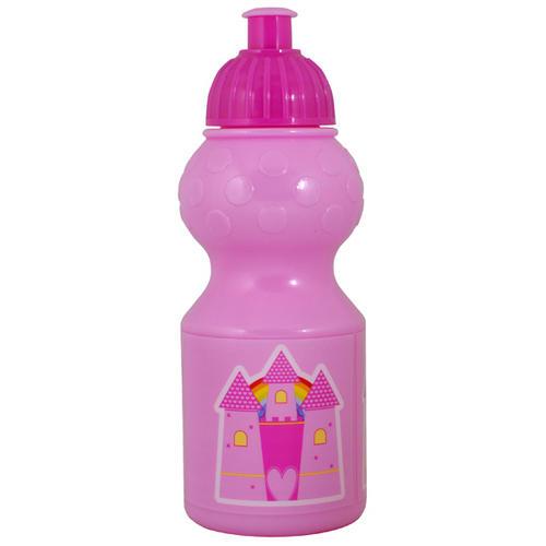 Polar Gear Fairy Castle Plastic Water Drinks Sports Bottle Pink