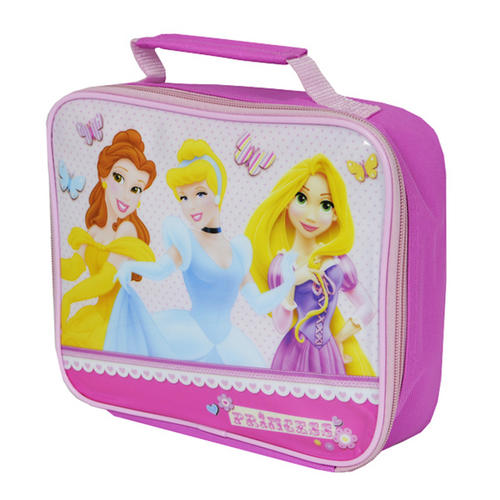 Disney Princess Rectangle Insulated Lunch Bag Sandwich Carrier Cool Bag