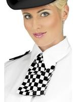 Policewoman Set Collar Scarf &amp; Epaulettes Fancy Dress