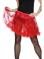 Petticoat, Red, Layered