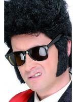 Teddy Boy Sideburns Black 50s Fancy Dress