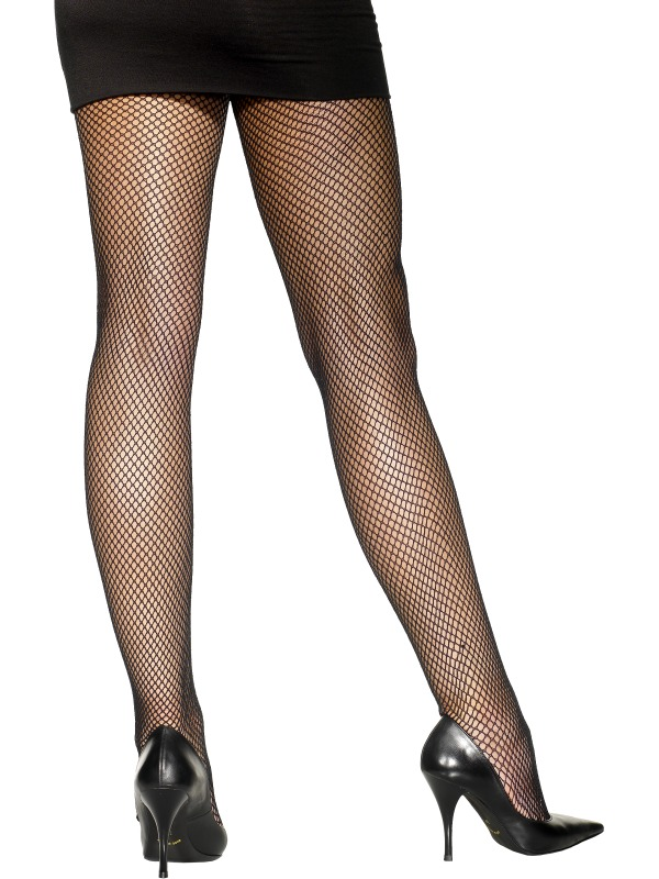 Fishnet Tights Black Fancy Dress