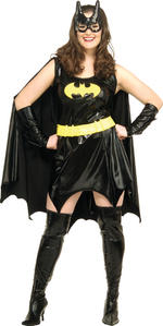 Batgirl Plus Size Superhero Costume Fancy Dress XL