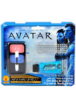 Navi Avatar Make-Up Kit Blue Glitter Fancy Dress