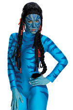 Avatar Official Neytiri Deluxe Wig Fancy Dress