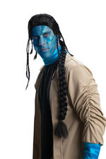 Avatar Official Jake Sully Deluxe Wig Fancy Dress