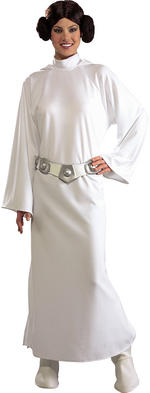 Star Wars Deluxe Princess Leia Costume Medium