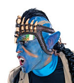 Avatar Official Jake Sully Blue Ears Fancy Dress