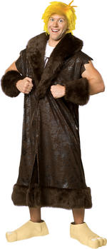 Mens Deluxe The Flintstones Barney Costume Fancy Dress