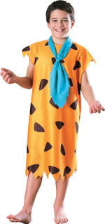 Fred Flintstone Costume Boys Fancy Dress Kids Child Licenced Cartoon