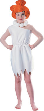 Wilma Flintstone Costume Girls Fancy Dress Kids Child The Flintstones Licensed