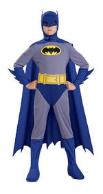 Batman Brave & Bold Costume Boys Fancy Dress Kids Child Licensed