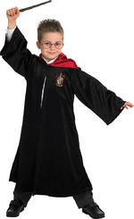 Harry Potter School Robe Boys Fancy Dress Kids Child Licensed