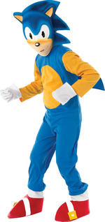 Sonic the Hedgehog Costume Boys Fancy Dress Kids Child Sega Licensed