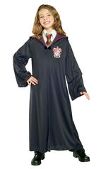 Gryffindor Robe Girls Boys Fancy Dress Kids Child Harry Potter Cloak Book Week