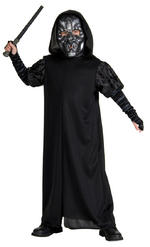 Death Eater Costume Boys Fancy Dress Kids Child Harry Potter Licensed