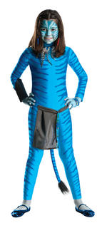 Neytiri Costume Girls Fancy Dress Kids Child Avatar Licensed