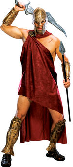 Mens Deluxe 300 Spartan Costume Fancy Dress